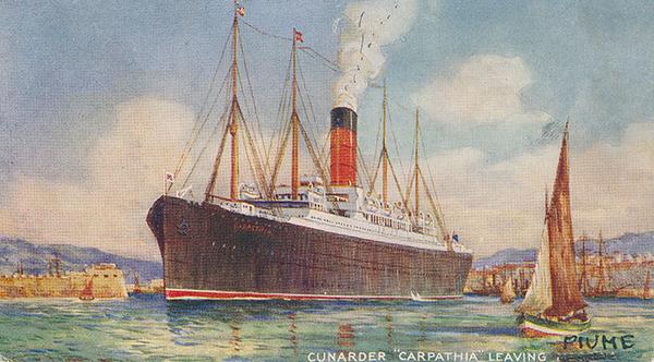 Titanic-Carpathia