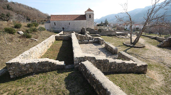 Ranokršćanska arheološka baština otoka Krka