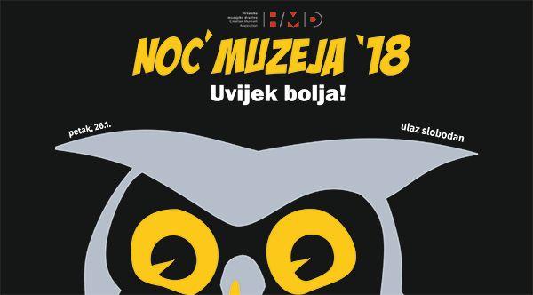 Noć muzeja 2018.