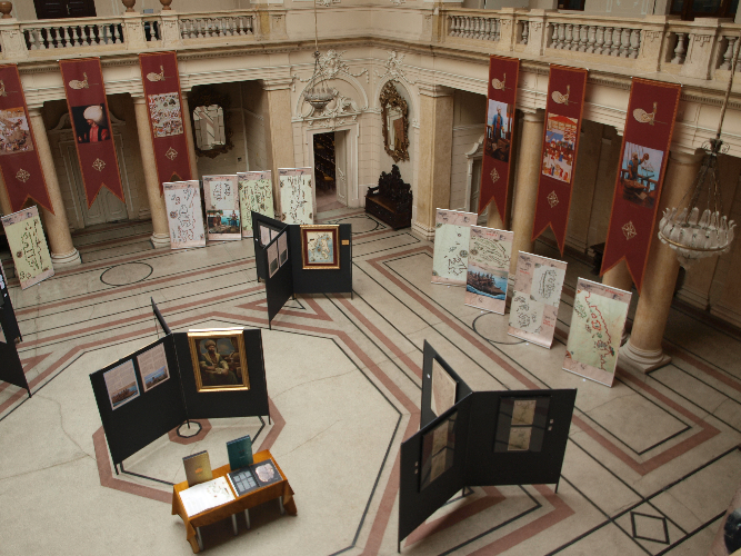 Piri Reis - postav izložbe
